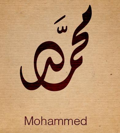 صورة ما معنى كلمة محمد