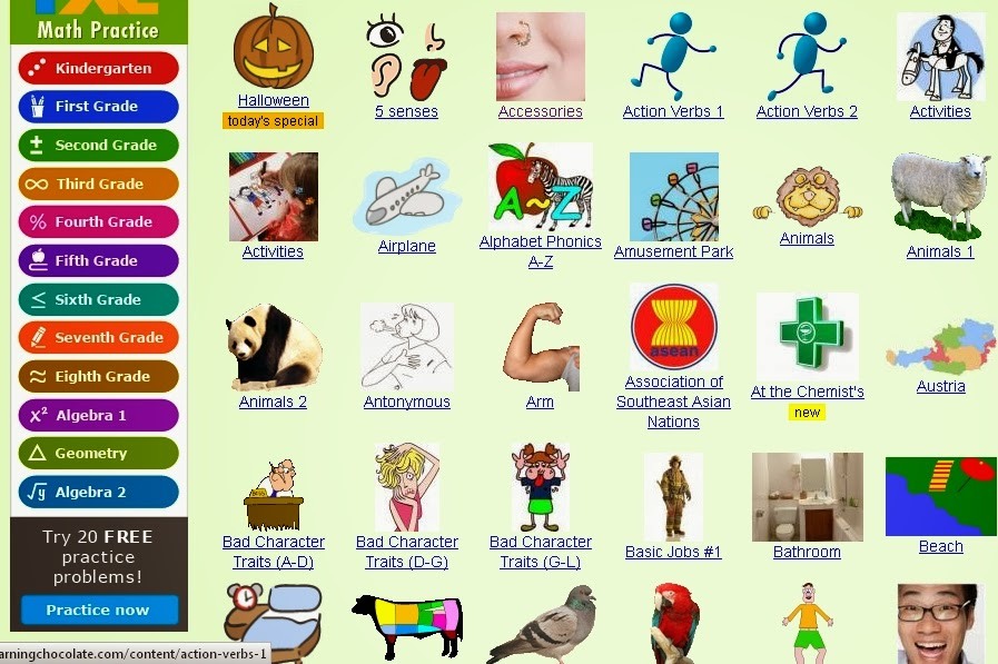 صورة كلمات انجليزيه للاطفال على شكل صور