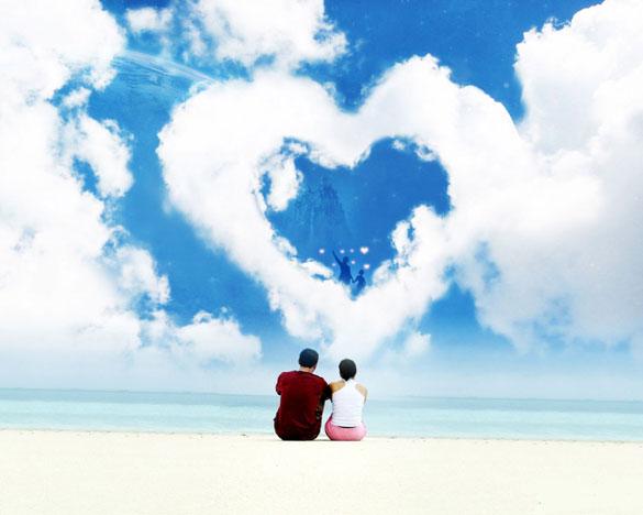 صورة عبارات جميلة عن الحب والعشق