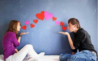 صورة احلى الكلام عن الحب