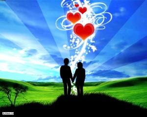 صورة كلمات واشعار عن الحب