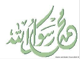 صور عبارات عن محمد رسول الله , كلمه محمد رسول الله
